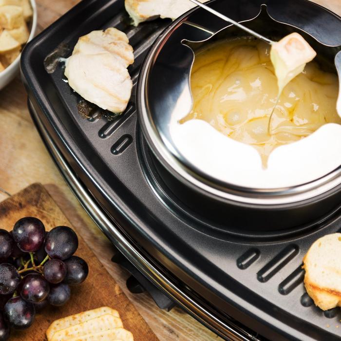 Entrecote griglia Raclette Fondue 1100W 8