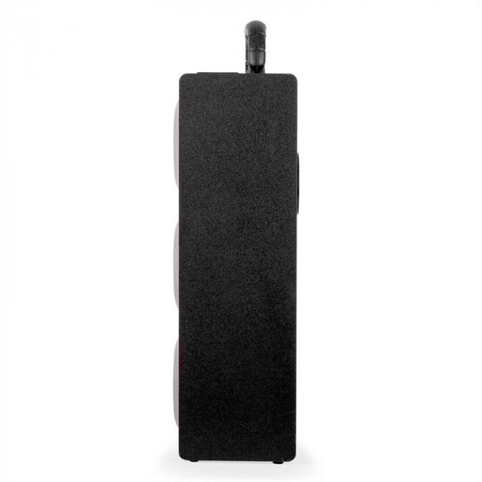 Beachboy XXL Bluetooth Luidspreker zilver USB SD AUX UKW