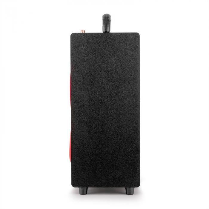 entral Park 2.1 enceinte mobile Bluetooth USB SD -rouge
