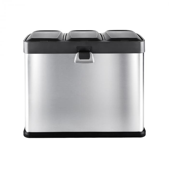 Ecosystem Stainless Steel Recycling Bin 45L