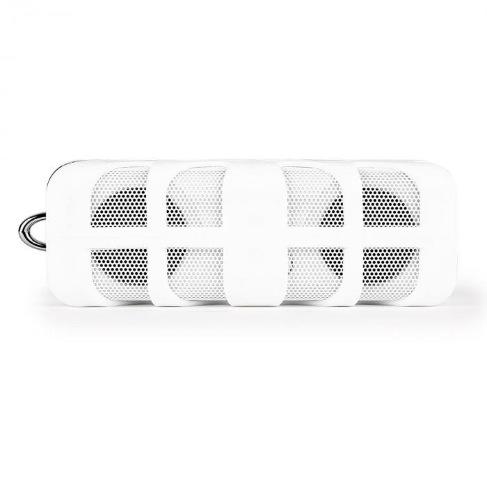 White Know Bluetooth-Lautsprecher AUX Akku weiß