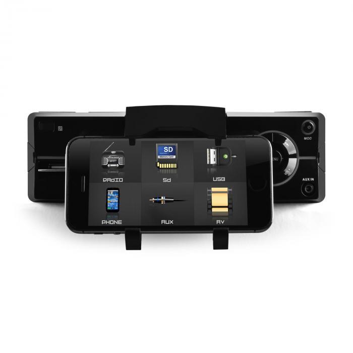 MD-640 Autoradio Bluetooth SD Sostegno Smartphone