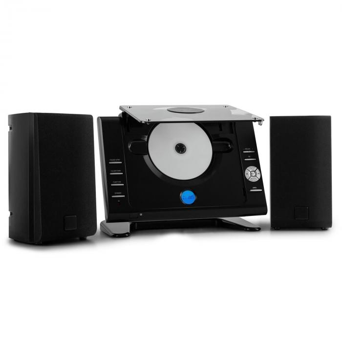 Vertical 70 Stereo System CD MP3 USB AUX Black