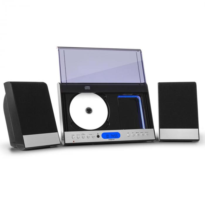 90 Stereo verticale CD USB ​​MP3 AUX nero