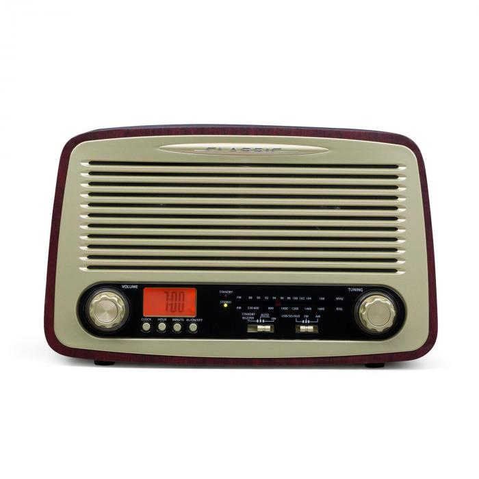 Dabby-Holly Radio Retrò FM/AM MP3 USB