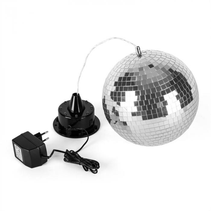 LED Ball Discokugel 20 cm