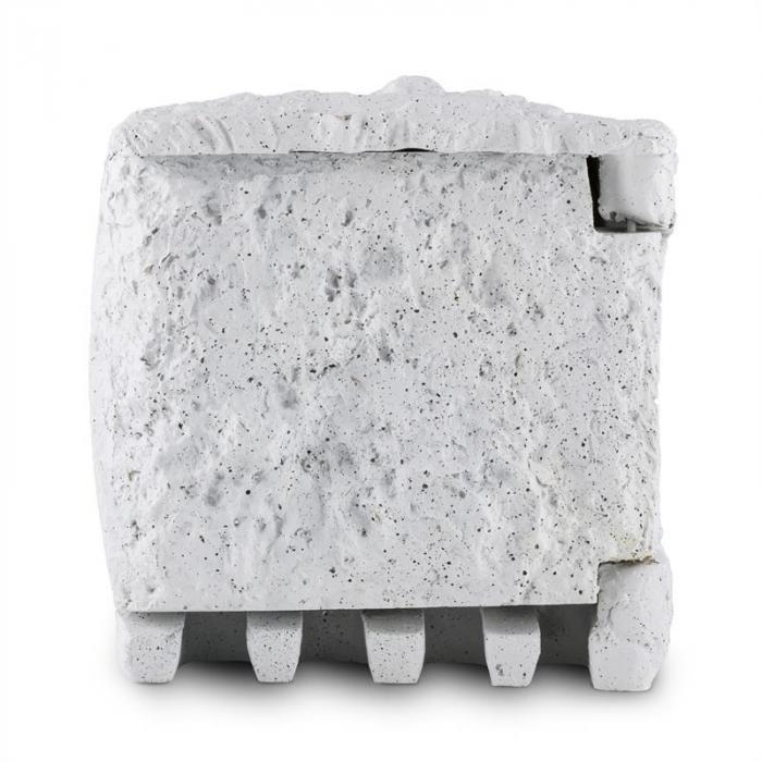 Timer Rock Gartensteckdose 2-fach Verteiler 1,5m Zeitschaltuhr