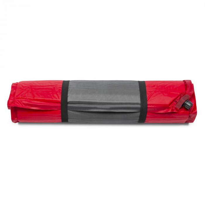 Goodrest 10 Isomatte Luftmatratze 10cm dick selbstaufblasend rot-grau