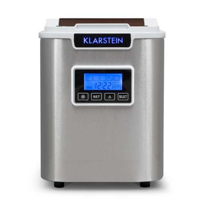 ICE6 Icemeister Ice Maker 12kg / 24h Stainless Steel White