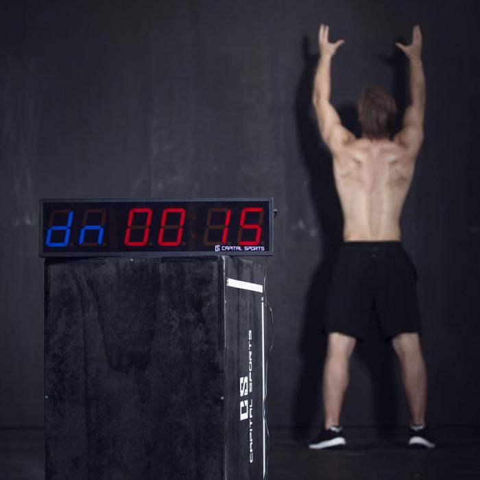 Timeter 2.0 6 Sporttimer Tabata-Timer 6 Ziffern