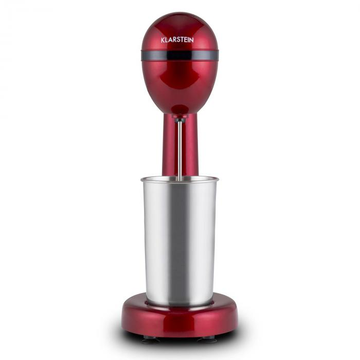 van Damme Mixer Shaker 100W 450 ml Acciaio Inox Rosso