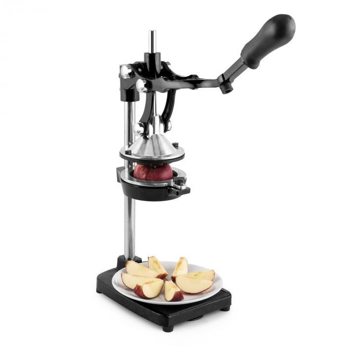 TriJuicer Hebelsaftpresse Pommesschneider Apfelschneider schwarz