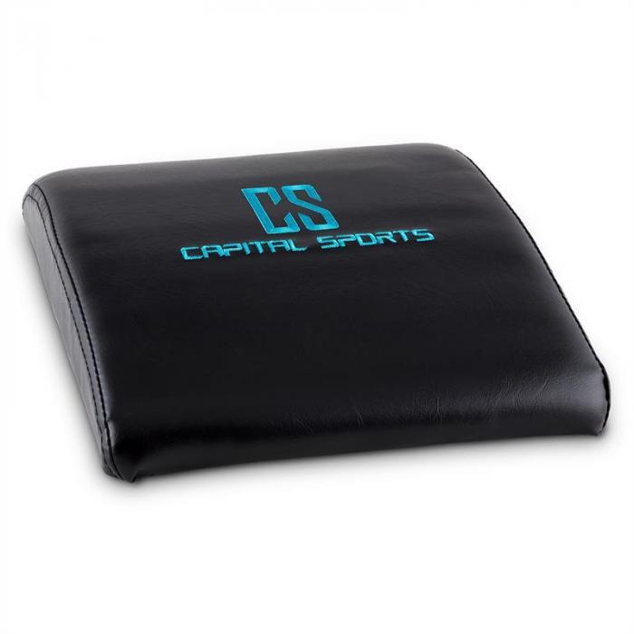 Backsill Set Bauchtrainer Rückentrainer Sit-Up 5 Stück schwarz