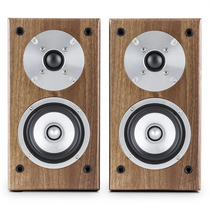 Line 501 BS-WN Passive Bookshelf Speaker Pair 100W Walnut