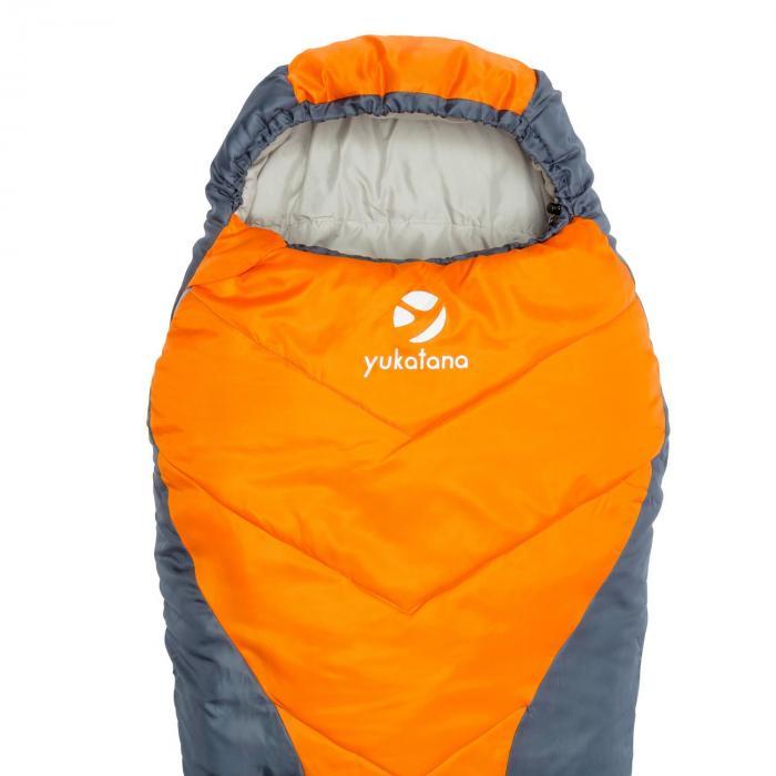 CabrilhoSac de couchage momie junior réglable 300g/m² polyester orange