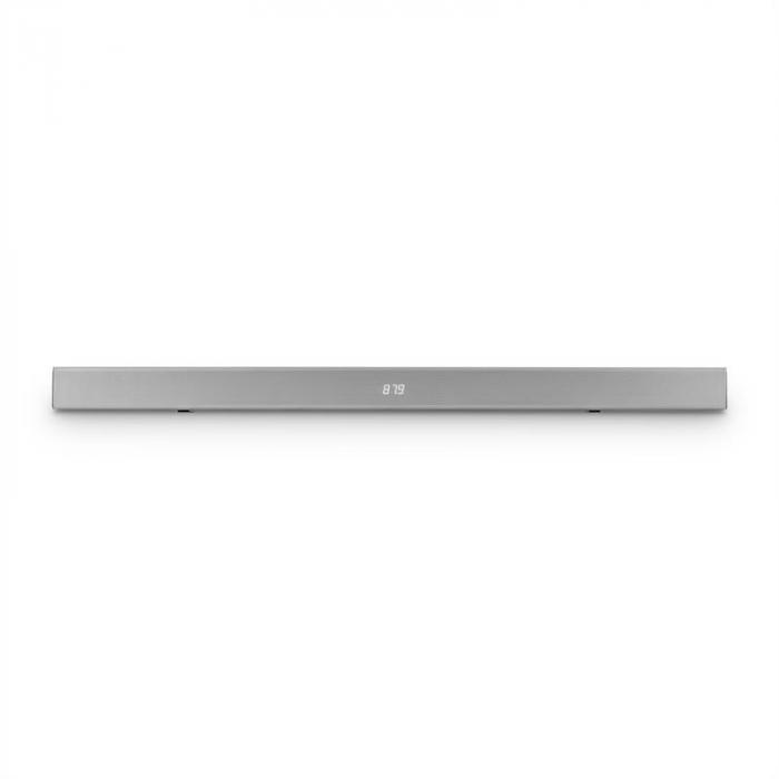 Areal Bar 350 2.0 soundbar 80 W kosketus bluetooth USB FM kromi hopeanvärinen