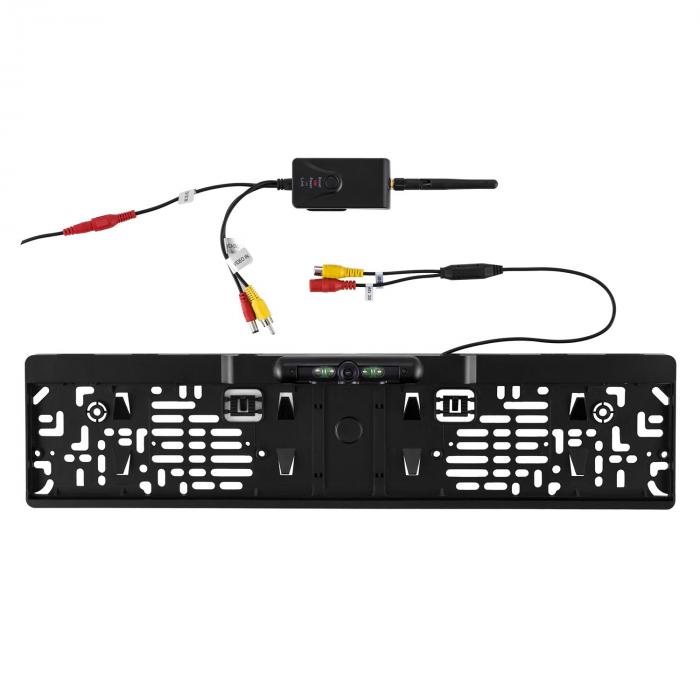RV1 Rear View Camera License Plate Holder WiFi Transmitter 10m