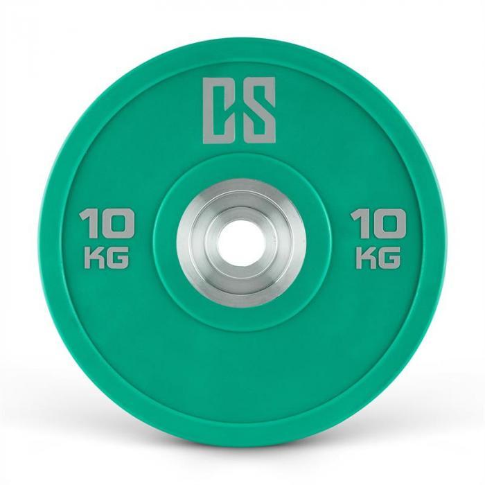 Performan Urethane Plates Coppia Pesi Dischi 10kg Verde