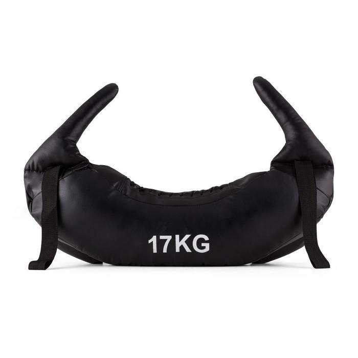 Bull Boost XXL Bulgarian Bag hiekkasäkki 17 kg nahkaa musta