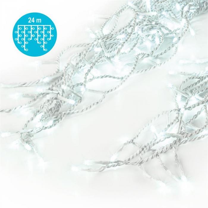 Dreamhouse Flash Christmas String Lights 24m 480 LED Cold White Flash Motion