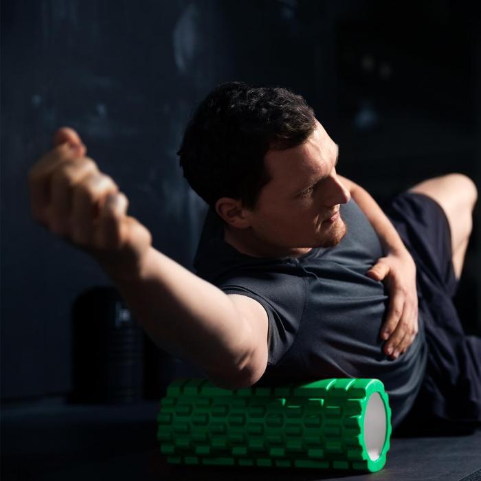 Yoyogi Rolo de Espuma Massagem Exercícios 33,5cm verde