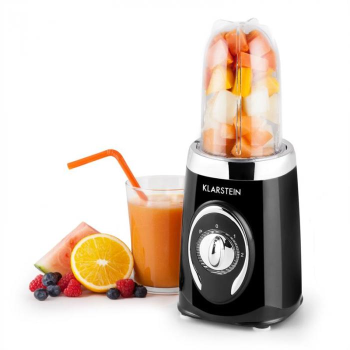 Fruizooka Mixer Smoothiemaker 4-in.1 Multifunzione 220W Nero