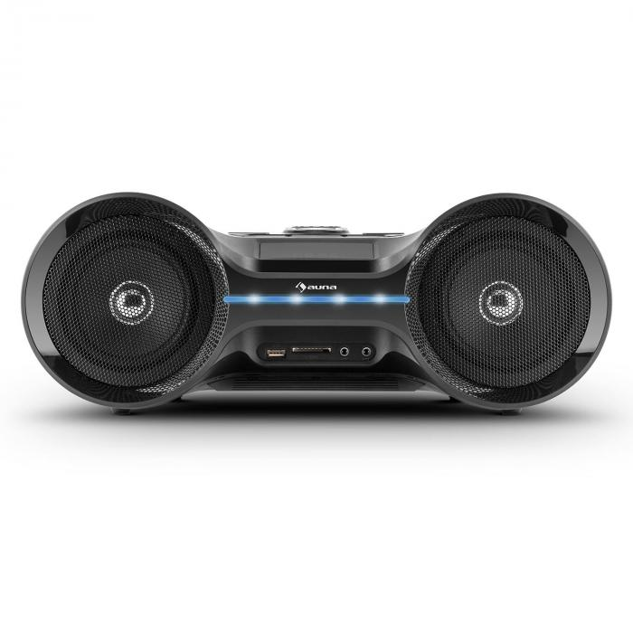 Boombastic Boombox Bluetooth USB SD MP3 AUX UKF LED