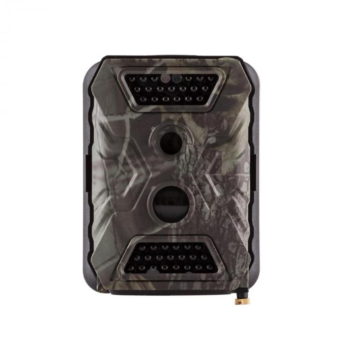 GRIZZLY Wildlife Camera Black Full HD USB SD with Battery