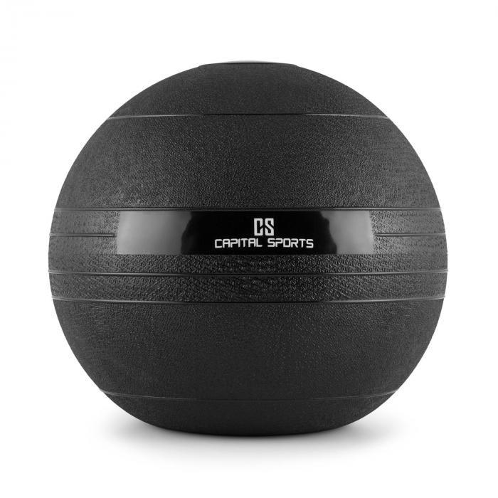 Groundcracker Slamball schwarz Gummi 18kg