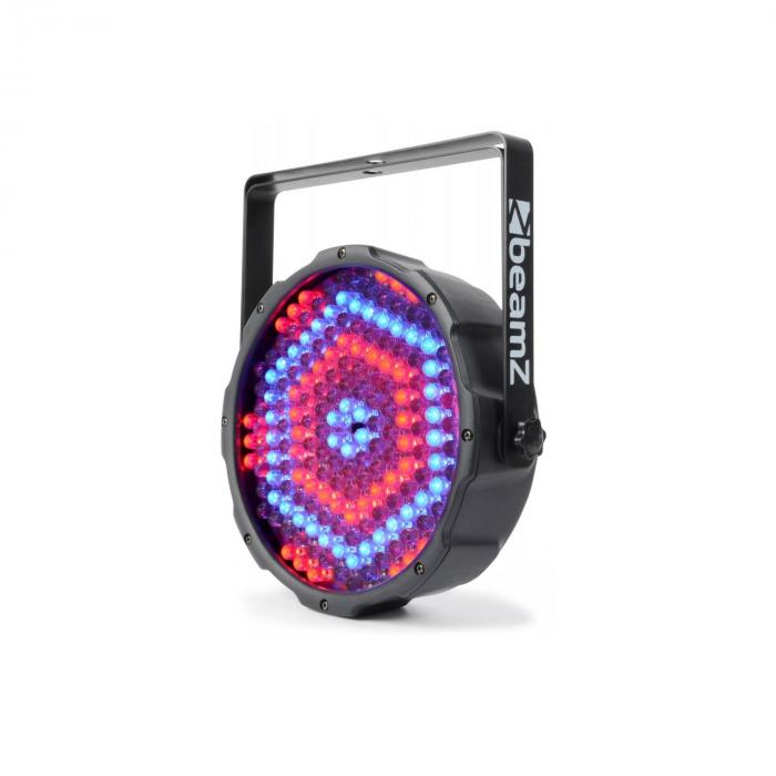 FlatPAR 186 x 10mm PAR-Strahler RGBW LED DMX