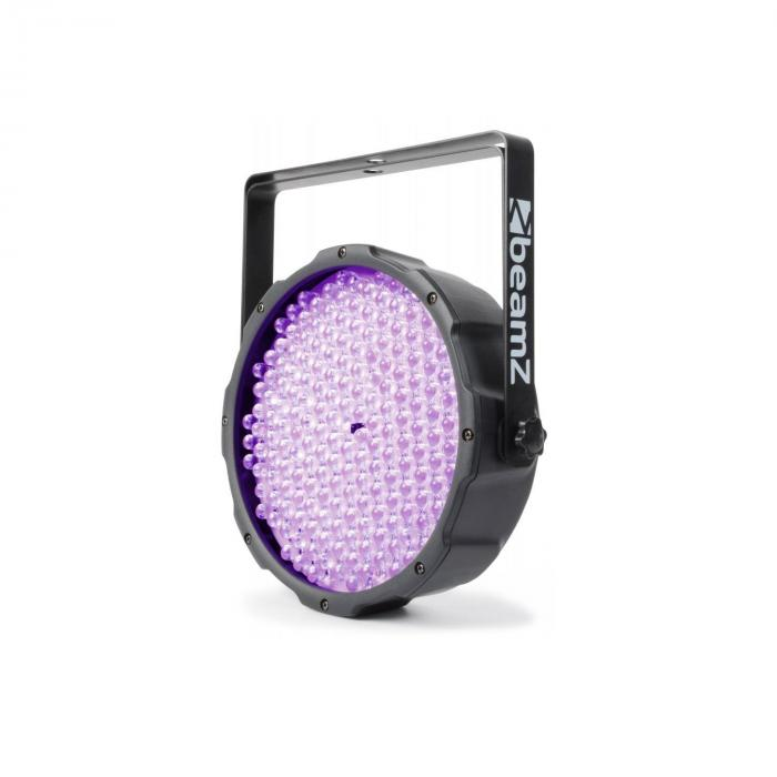 FlatPAR Foco PAR 186 x 10mm UV LED DMX