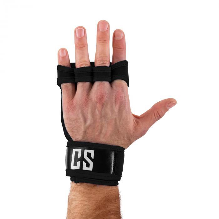 Palm Pro Guanti Sollevamento Pesi taglia L nero