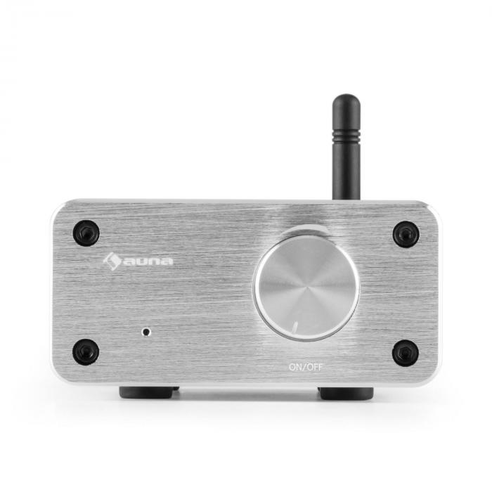 PA HiFi Set Bluetooth Play WH Coppia Altoparlanti Mini Amplificatore Bluetooth Cavo