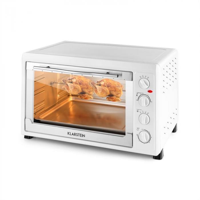 MasterChef 60 Mini Oven 2500W 60 Litre Stainless Steel White