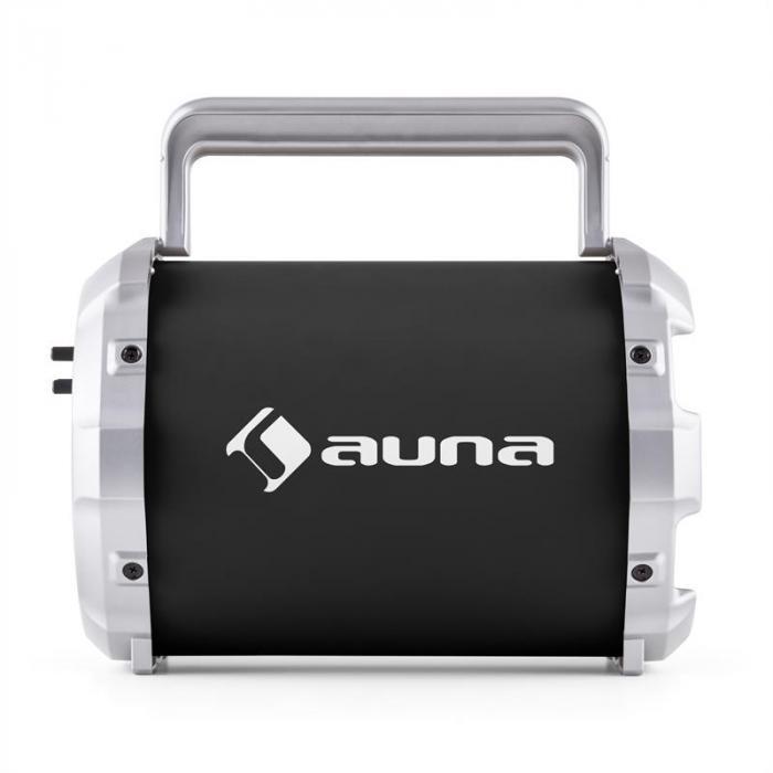 Dr. Bang ! 2.1-bluetooth-kaiutin USB SD AUX akku sis. mikrofonin musta