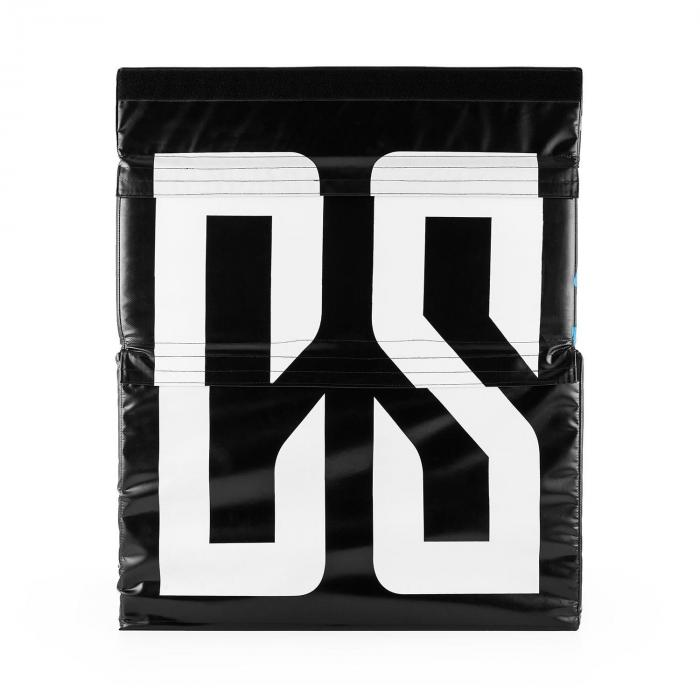 Rookso Set Soft Jump Box Plyo Box 15 / 30 / 45 cm 3 Stück schwarz