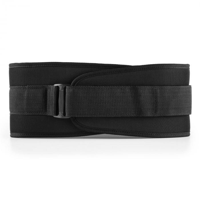 Rugg cinturón de entrenamiento con velcro ultraligero Talla: M negro