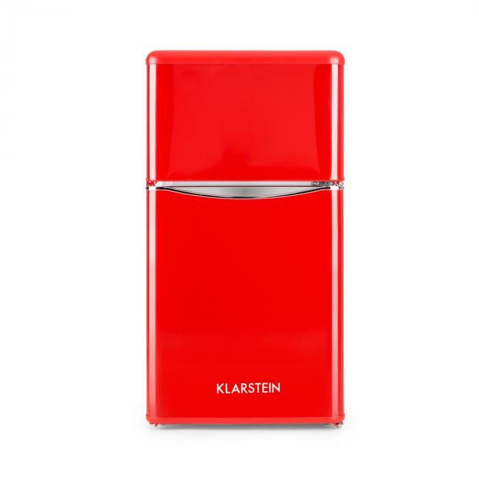 Monroe Red jääkaappipakastin 61/24 l A+ retrolook punainen