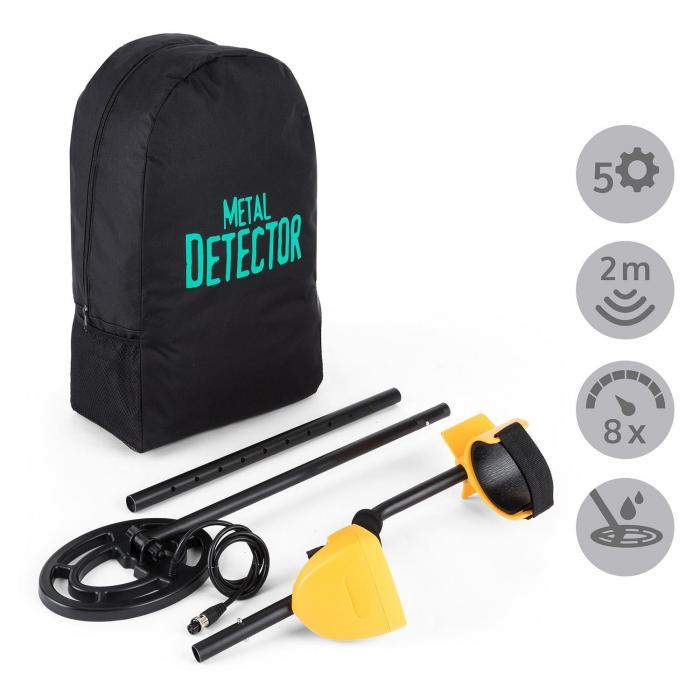Dr. Jones Metal Detector Zaino Trasporto Protezione Per Display Cuffie