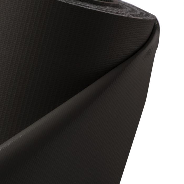 Pureview näkösuoja PVC 2 rullaa 35m x 19cm, 60 kiinnityslistaa tummanharmaa