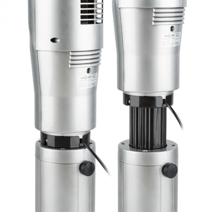 Northpeak Ventilatore a Colonna Altezza Regolabile 50 W Timer Telecom