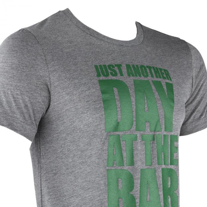 Treenipaita T-paita miehille koko L meleerattu harmaa