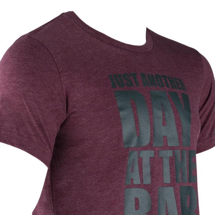 Treenipaita T-paita miehille koko XL viininpunainen