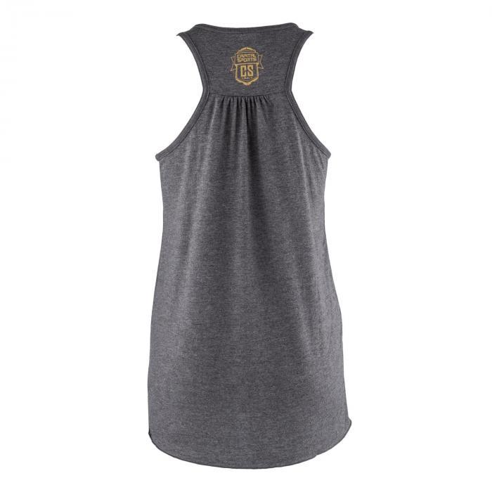 Koszulka treningowa top damska rozmiar L ciemnoszara