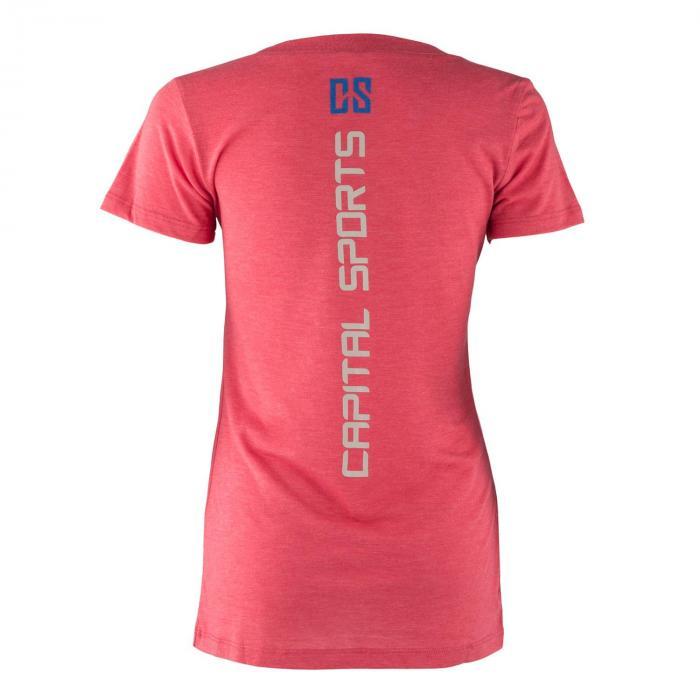 Treenipaita T-paita naisille koko M punainen