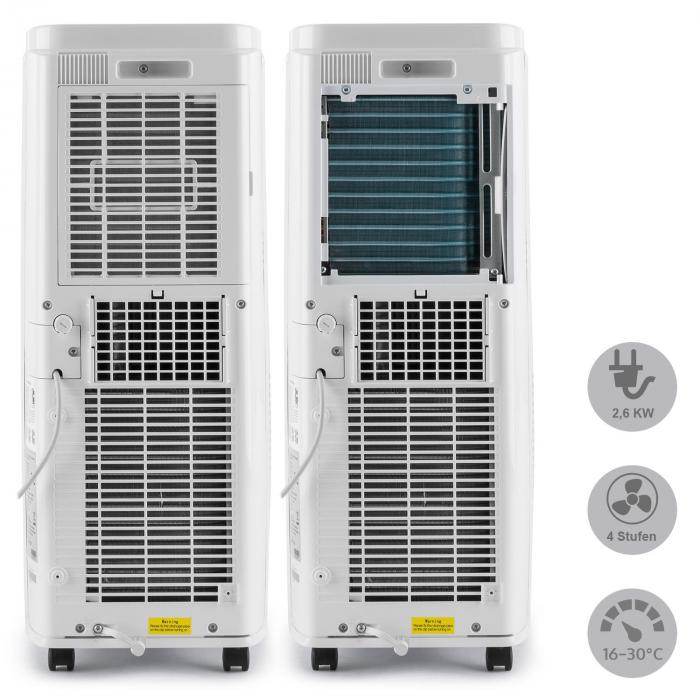 New Breeze 7 ilmastointilaite 2,6 kW energialuokka A kaukosäädin valkoinen