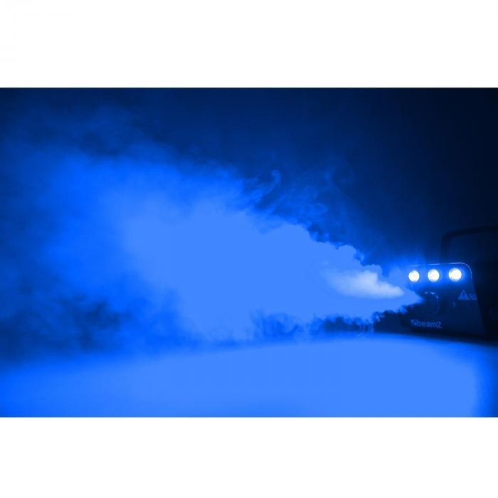 S700LED Wytwornica mgły 700W 3x1W LED Efekt lodu z pilotem, pałąkiem
