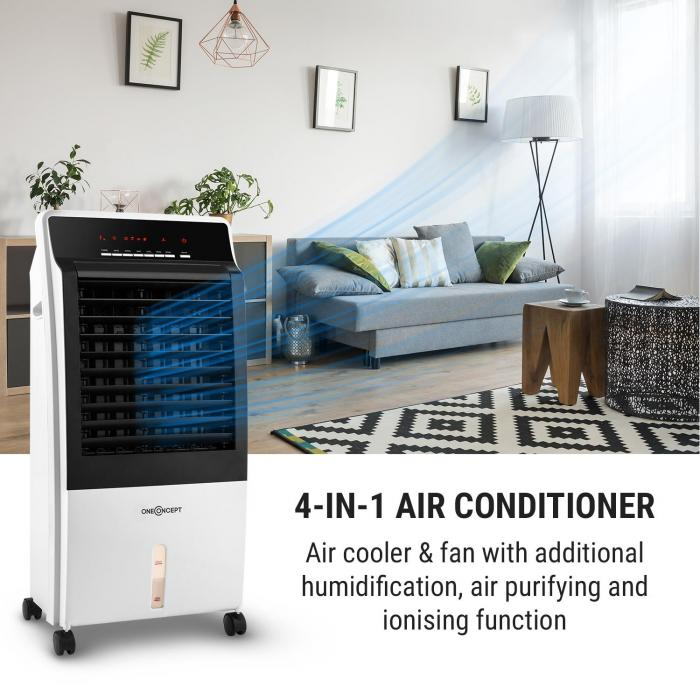 CTR-1 v2 Water to Air Cooler 4-in-1 Portable Air Cooling System 65W & Remote
