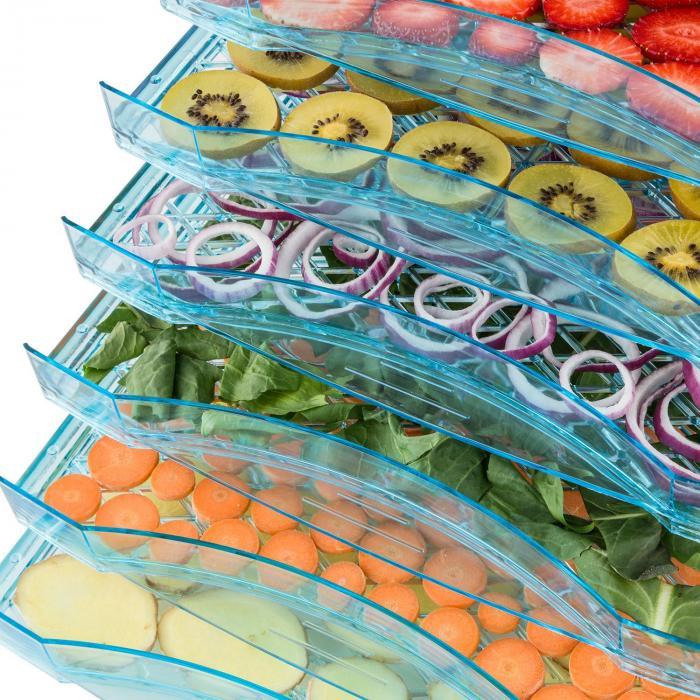 Fruit Jerky 6 Basic Essiccatore Disidratatore Asciugatore 630W 6 ripiani