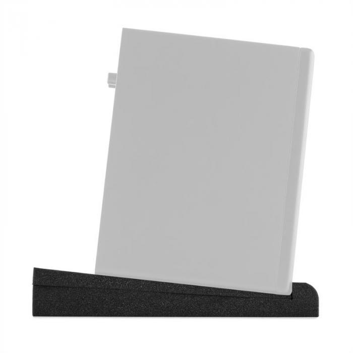 """IsoPad 6,5"""" Akustik Schaumstoff Paar 4/8° Neigung anthrazit"""
